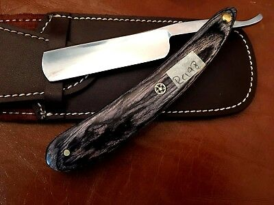 Handmade Carbon Steel Straight Razor-Cut Throat-Shave Ready-Best Gift -RC198