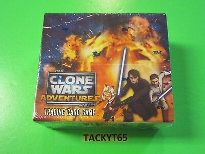 2011 Star War Clone Wars Factory Sealed 24 Pack Booster Box  New