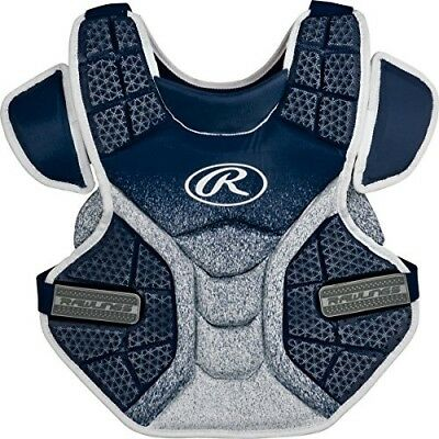 (Navy/White) - Rawlings Sporting Goods Softball Protective Velo Chest