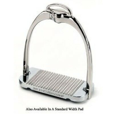 MDC Sport Classic Stirrups 12.1cm Stainless. Shipping Included
