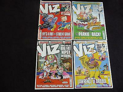 British Viz comics / magazines issues 202, 203, 204, 205 - 4 comics