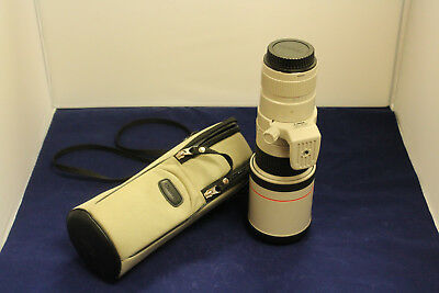 Canon EF 400mm f/5.6L USM Super Telephoto Lens w/ Carrying Case