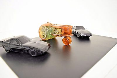 Nice 3pc Lot of Vintage Avon Corvette & Tractor Aftershave & Cologne Bottles