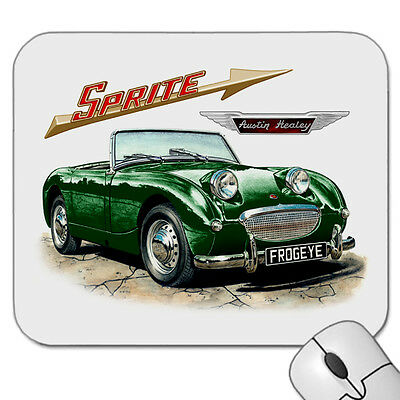 Austin  Healey  Frogeye    Sprite     Mouse Pad