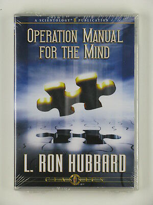 LRH Lecture on CD – Operation Manual for the Mind - NEW! - Scientology