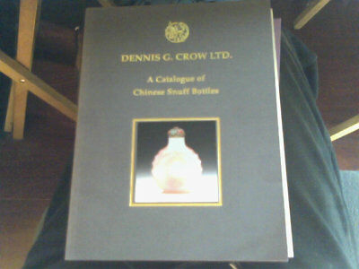 2 Very Rare Books Catalogue Of Chinese Snuff Bottles Crow Aubereuropaische Kunst
