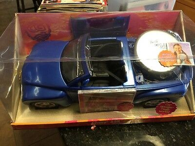 New In Box Barbie Car Chevy SSR  - Royal Blue With CD Player Blue Car
