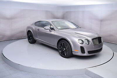 2010 Bentley Continental Supersports Supersports in Silver Tempest 2010 BENTLEY CONTINENTAL SUPERSPORTS IN SILVER TEMPEST