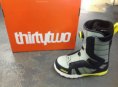 32 STW Boa Snowboard boots mens thirty two snowboarding boot quick lace 8 10
