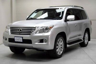 2011 Lexus LX Base Sport Utility 4-Door 2011 Lexus LX570 Awd heated & cooled seats navi power moon roof well cared for!!