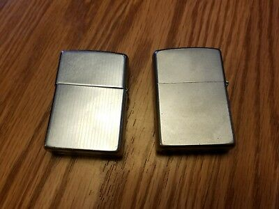 Vintage ZIPPO Lighters Lot of 2