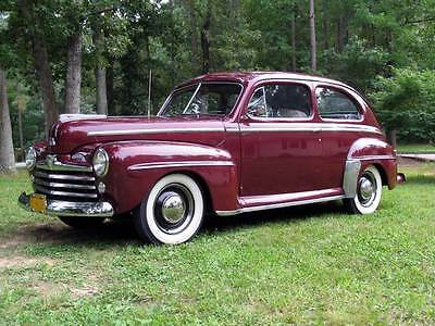1948 Ford Tudor Special Deluxe  1948 Ford Tudor Coupe Special Deluxe