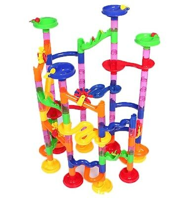 GAMT 105pcs Marble Run Building Blocks Toys Three-dimensional Maze Pipeline Game
