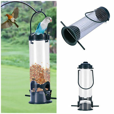 Automatic Cage Hanging Bird Feeder Garden Hanging Outdoor Wild Bird Feeder