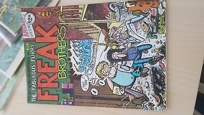 The Fabulous Furry Freak Brothers #1 (1980 Rip Off Press)