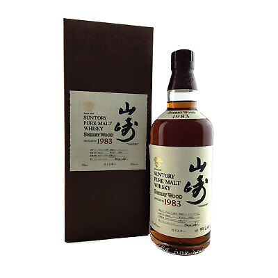 Suntory Yamazaki 1983 Sherry Wood Cask Japanese Whisky 700ml 45%