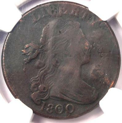 1800 Draped Bust Large Cent 1C S-197 - NGC VF Details - Rare Early Date Penny
