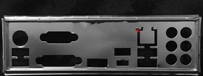 NEW io i/o shield backplate for MSI B350 TOMAHAWK , Custom #T4513 YS
