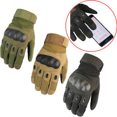 Full Finger M-XL Nylon Motorcycle Racing Riding Warm Touch Screen Gloves Outdoor
