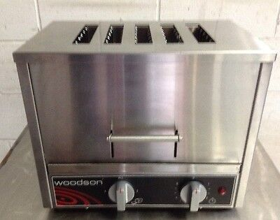 As New Woodson 5 Slice Vertical Toaster W.TOV5