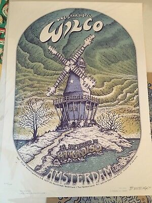 EMEK WILCO poster For Amsterdam 2005 At Paradiso Limited Edition