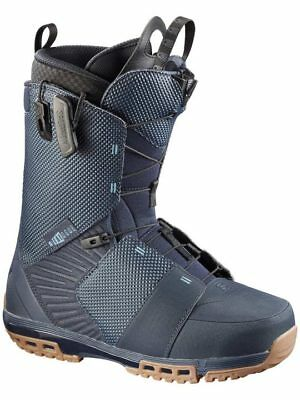 SALOMON Dialogue 2017 Snowboard boots mens speed lace zone lock 10.5 11.5 12.5
