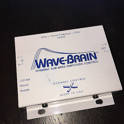 Wave Brain Dynamic Sub Bass Amplitude Controller For Bass Players Very RARE