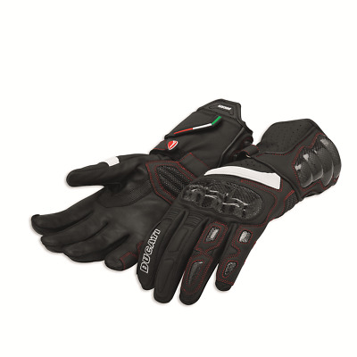 Ducati Performance C2 Gloves Leather Black NEW 2018 Genuine