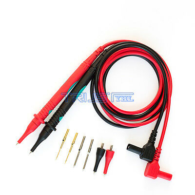 Universal Replacement Pair Test Lead Cable Probe for Digital Multimeters Testing