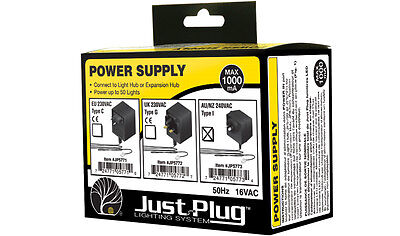 "AU 240VAC Power Plug for Woodland ""Just Plug"" Lighting System.... item JP5773"