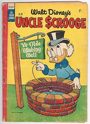 Australian Walt Disney's Uncle Scrooge Comic G.32 - Good - 1955