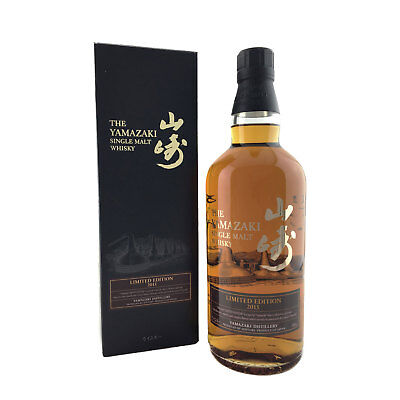 Suntory Yamazaki 2015 Limited Edition Japanese Single Malt Whisky 700ml 43%