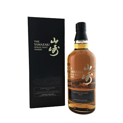 Suntory Yamazaki 2014 Limited Edition Japanese Single Malt Whisky 700ml 43%