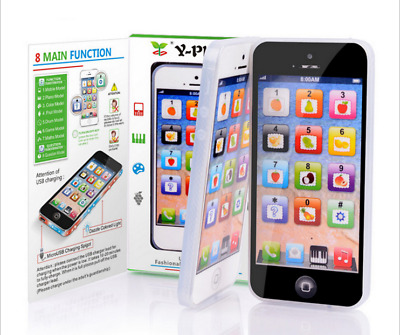 Y-PHONE-Smart Phone Baby Kids Toy Toddler Mobile Phone Educational Musical
