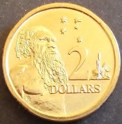 **1989 Australian $2 coin 2nd year of Issue with HH designer initials UNC**