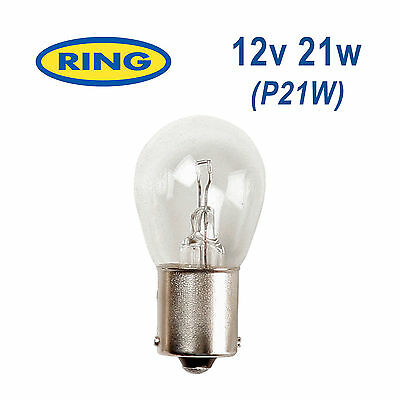 RING 12v 21w P21W BA15s Brake Light/Reverse Light/Indicator/Rear Fog Bulb RB382