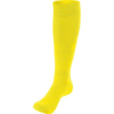 (10-13, Bright Yellow) - COMPETE SOCK - ADULT Holloway Sportswear