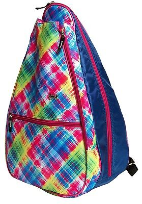 (Electric Plaid) - Glove It Tennis Backpack. GloveIt. Shipping is Free