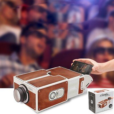 DIY Portable V2.0  Projector Video Film Mobile Phone Theater Cinema For iPhone