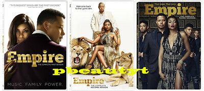 Empire:The Complete First Second Third Season 1 2 3(3 DVD Sets)NEW Seasons 1-3