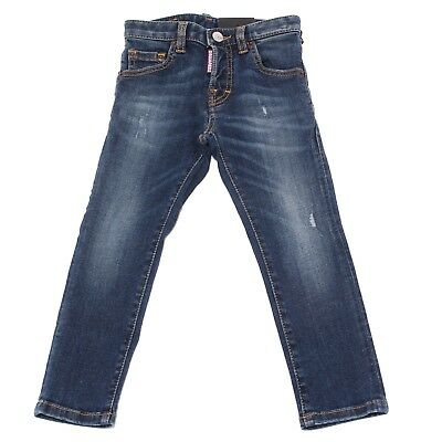 8057T jeans bimbo DSQUARED2 COOL GUY JEAN blu denim trouser jean kid