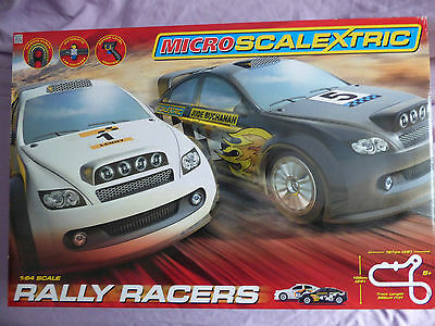 micro scalextric Rally Racers  Brand New.