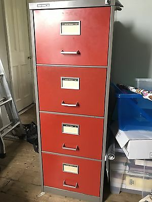 Vintage Roneo Vickers Filing Cabinet