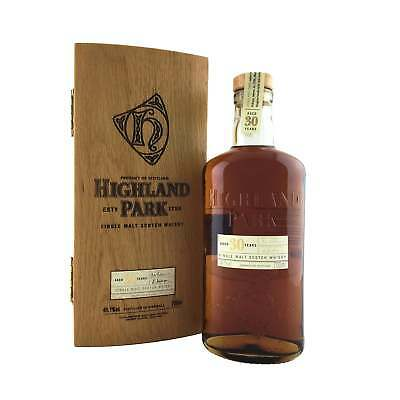 Highland Park 30 Year Old Single Malt Scotch Whisky 700ml 48.1%