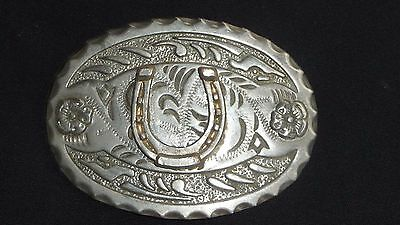 * Vintage *  Horse Shoe belt buckle