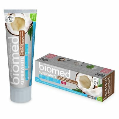 BIOMED - Superwhite natural toothpaste with coconut oil, without SLS or fluoride