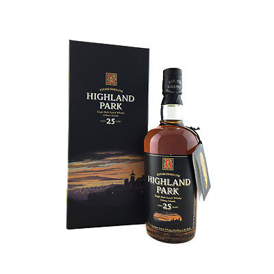 Highland Park 25 Year Old Single Malt Scotch Whisky 700ml 50.7%