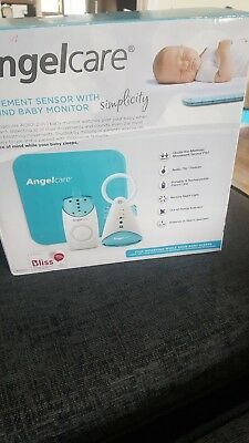 Angelcare Simplicity Baby Movement And Sound Monitor AC601