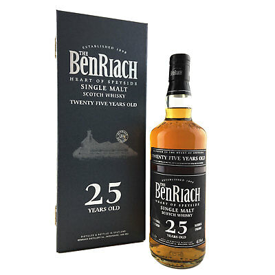 Benriach 25 Year Old Single Malt Scotch Whisky 70cl 46.8%