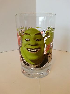 Shrek The Third Mcdonald's 2007 16Oz Glass (English & French)